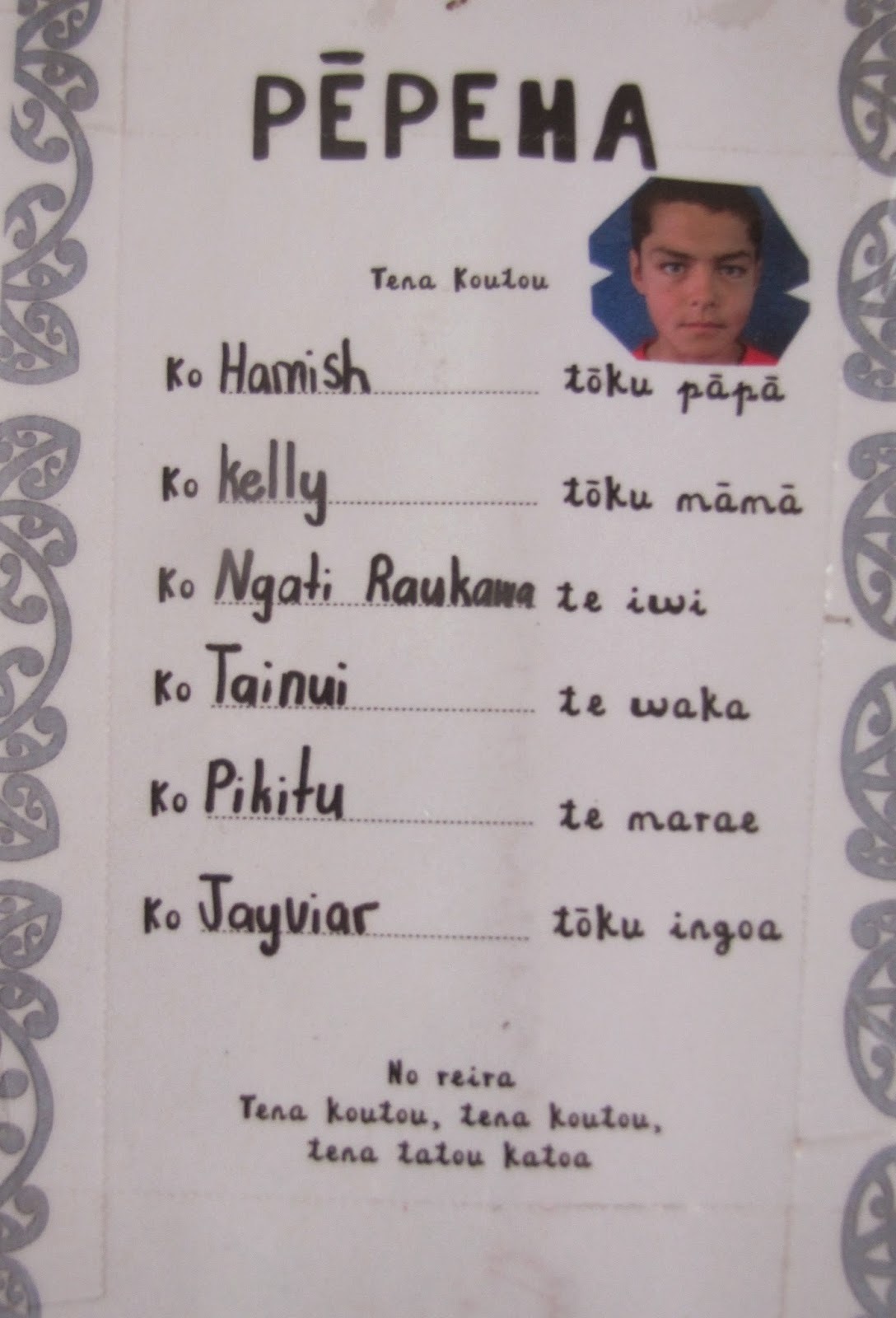 Room 10 Tokoroa Intermediate Nga Wiki O Te Reo Maori