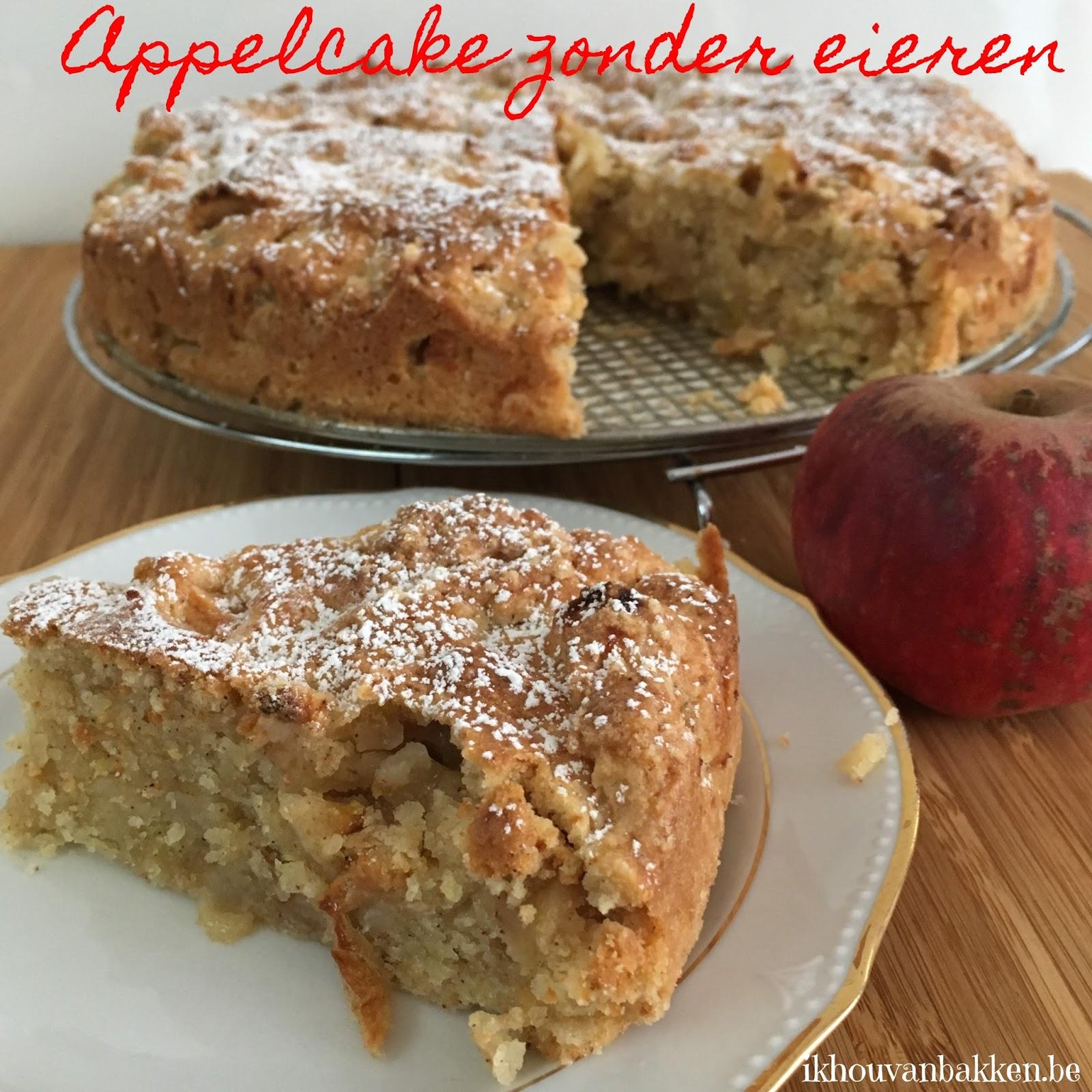 cake zonder ei met zelfrijzend bakmeel