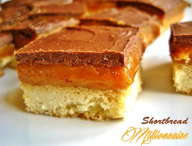 Shortbread millionnaire, ou twix maison