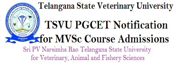 TSVU, PGCET,MVSc Course