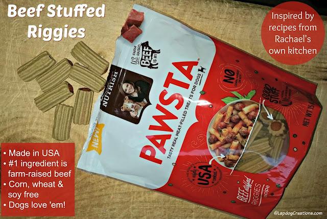 rachael ray nutrish beef stuffed riggies dog treats
