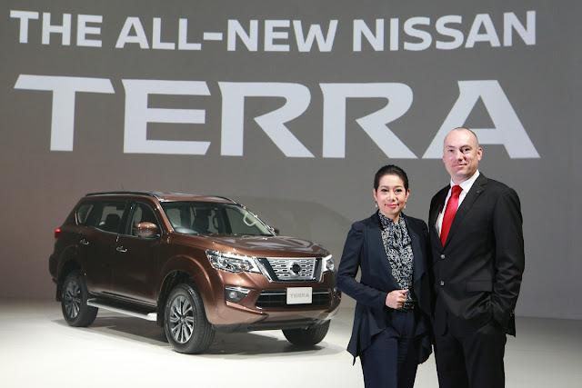 El nuevo SUV Nissan Terra debuta en Tailandia