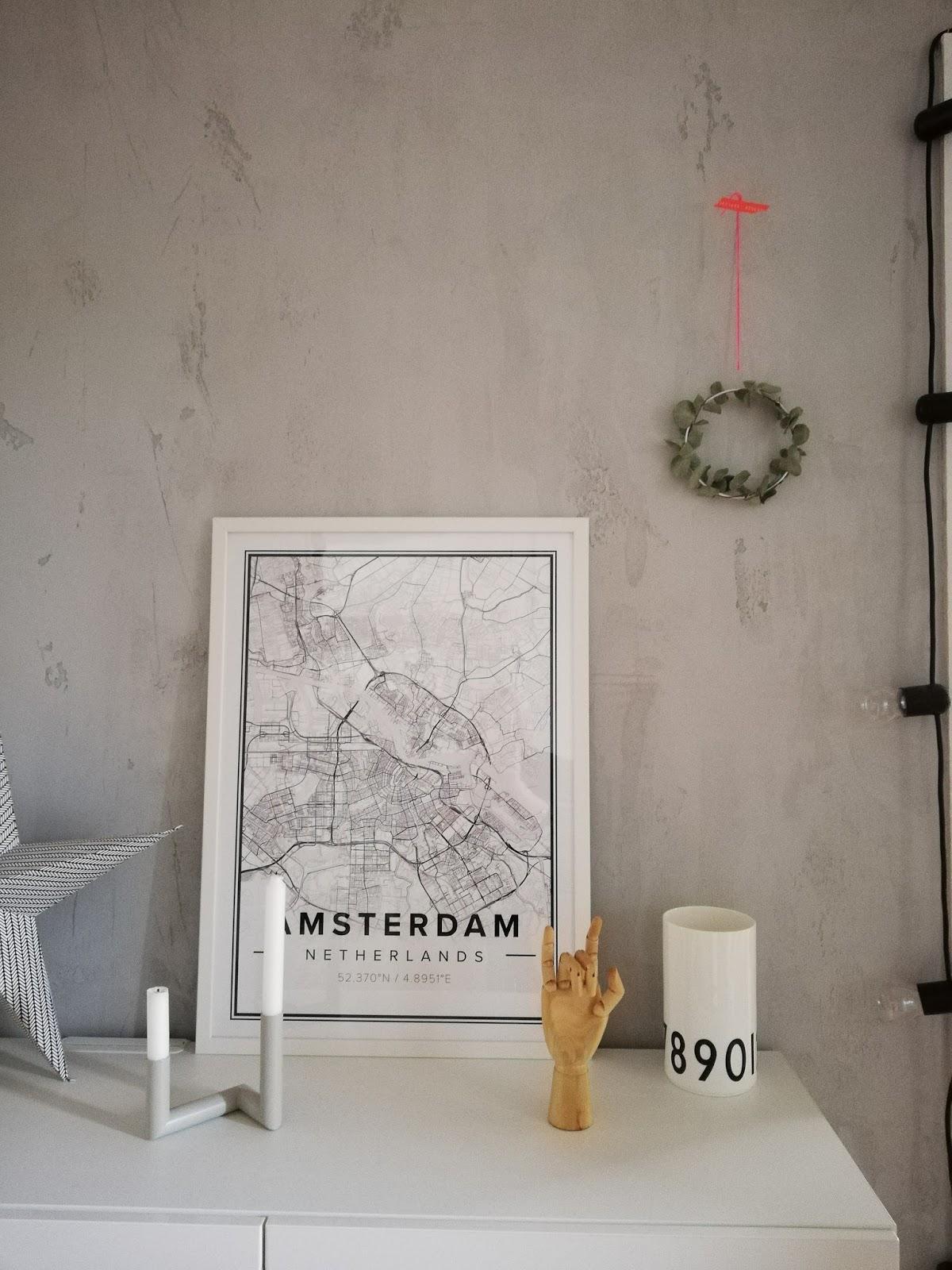 ideenpurzelb ume yippie meine wand in sichtbetonoptik und. Black Bedroom Furniture Sets. Home Design Ideas