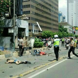 Foto-Foto Whatsapp dan BBM Korban Ledakan Bom di Sarinah, Jakarta