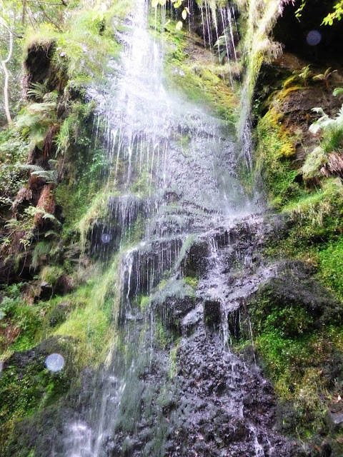 Mallyan spout waterfall North Yorkshire Moors