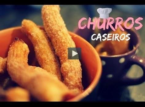 Churros Caseiro (Imagem: Reprodução/Youtube)