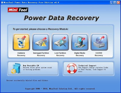 Power Data Recovery Free PC Software Recover data with Mini Tool