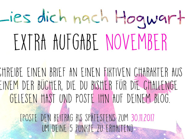 [Challenge] Lies dich nach Hogwarts - Extraaufgabe November