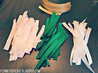 DIY Ribbon Yule Trees
