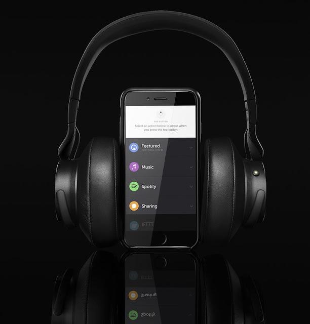 سماعات الراس قد بنيت على ضوابط Spotify