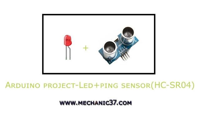 Distance Sensor Hc-Sr04 और Led Project बनाएं