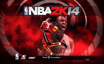 NBA 2k14 Title Screen Patch - Dwyane Wade