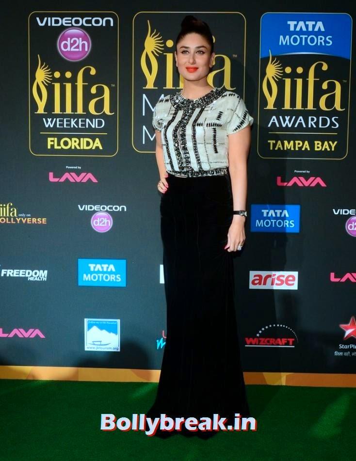 Kareena Kapoor, Bollywood Celebs sizzle on IIFA 2014 Green Carpet Pics