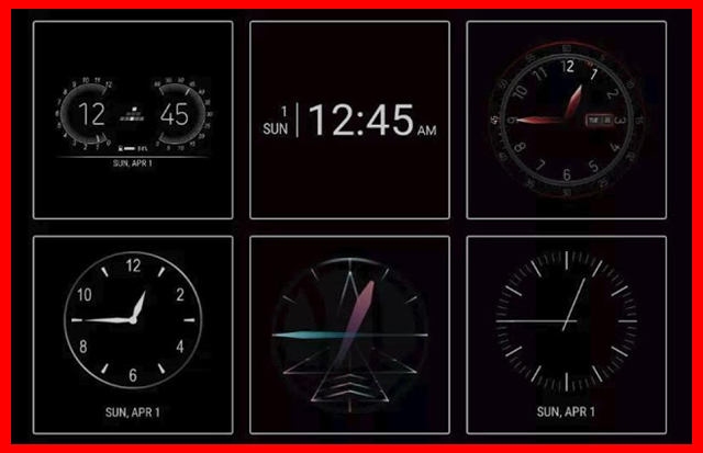"""طريقة تغيير شكل الساعة على شاشة القفل لاجهزة سامسونج """"Samsung ClockFace""""   بحرية درويد"""