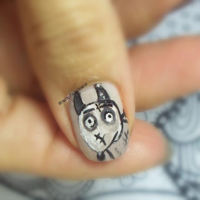 Sparky-Frankenweenie-nailart