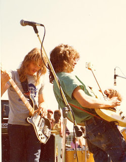 Paul & Terry at Volker Park in Kansas City, Missouri in 1974