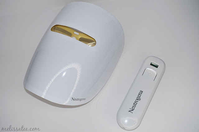 neutrogena light therapy acne mask review, neutrogena skin care, neutrogena