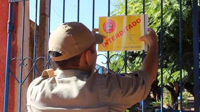 Escola José Carlos Neri é interditada pela 2ª vez em menos de um ano em Guajará-Mirim