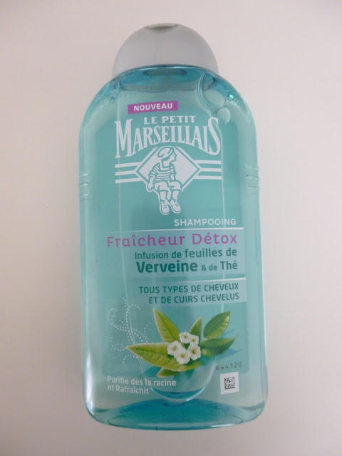 shampooing fraicheur détox le petit marseillais avis