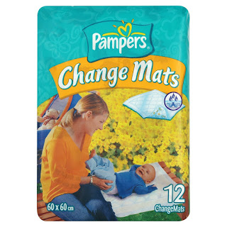 Top Deals, Best Selling : Pampers Change Mats, 12 Mats price today £4.00