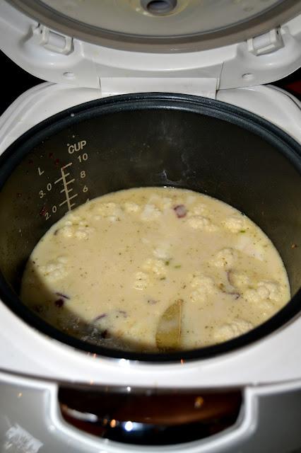 Cauliflower and Smoky Bacon Soup