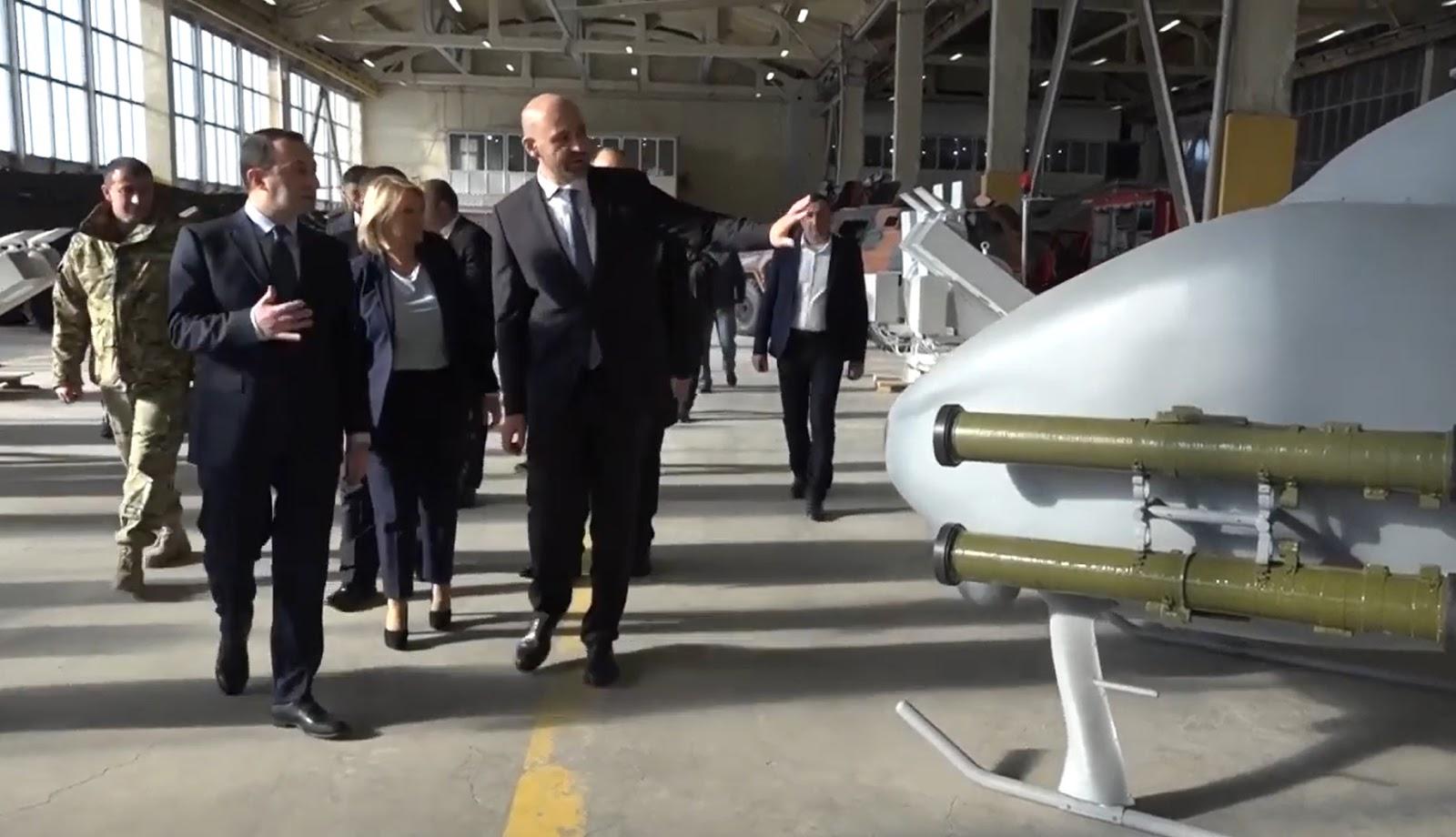 Грузія показала новий БпЛА з українським ПТКР