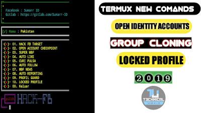 Termux New Commands FB TRICKS
