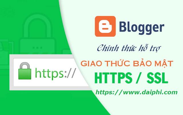 Hướng dẫn cài đặt giao thức bảo mật SLL (https://) cho Blogspot