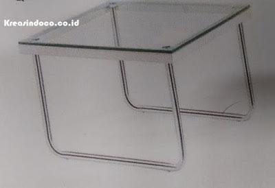 Harga Berbagai Meja Stainless Kombinasi Kaca atau Multiplek Terbaru