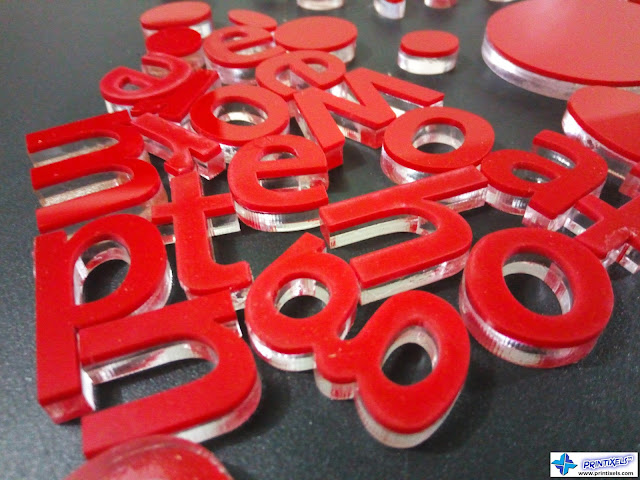 Laser-Cut Acrylic Letters Philippines