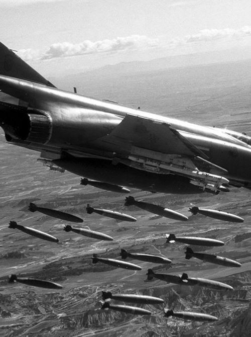 F-4 bomb run Vietnam. #VietnamWarMemories....help is on the way.
