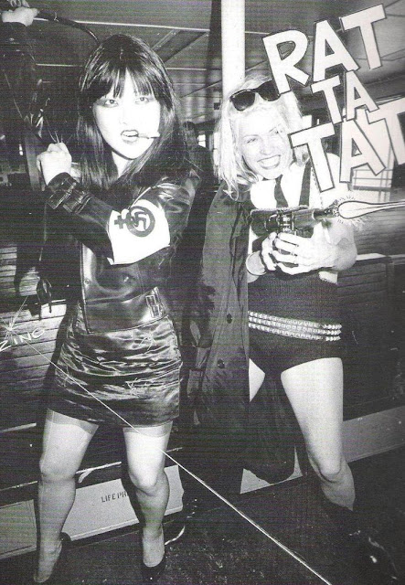 Anya Phillips and Debbie Harry - Punk Magazine