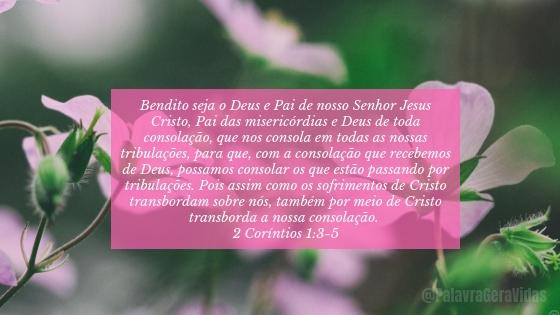 Top 10 Versículos Bíblicos - 2 Coríntios 1.3-5
