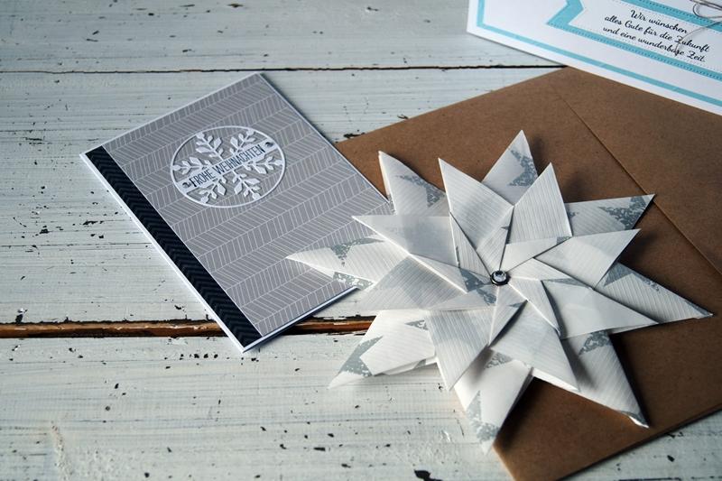 Blog + Fotografie by it's me! - Weihnachtskarte und Stern von Seraphinas Papetrie bei Etsy