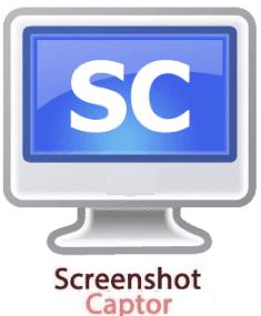 تحميل برنامج سكرين شوت لتصوير لقطات من الشاشة Screenshot Captor