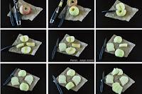 Cortar manzana para tartas