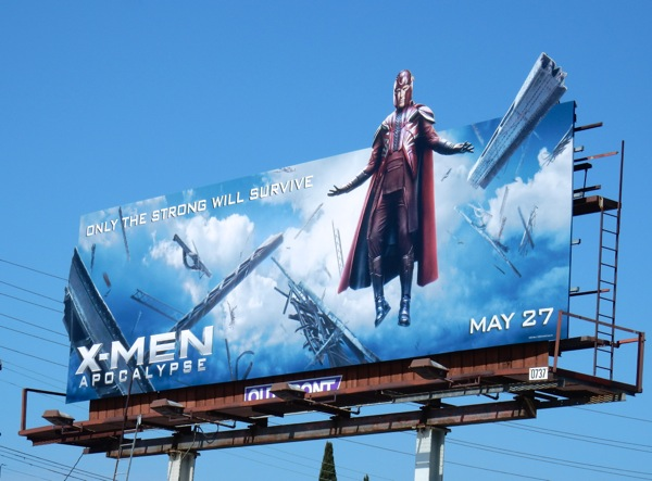 X-Men Apocalypse magneto extension billboard