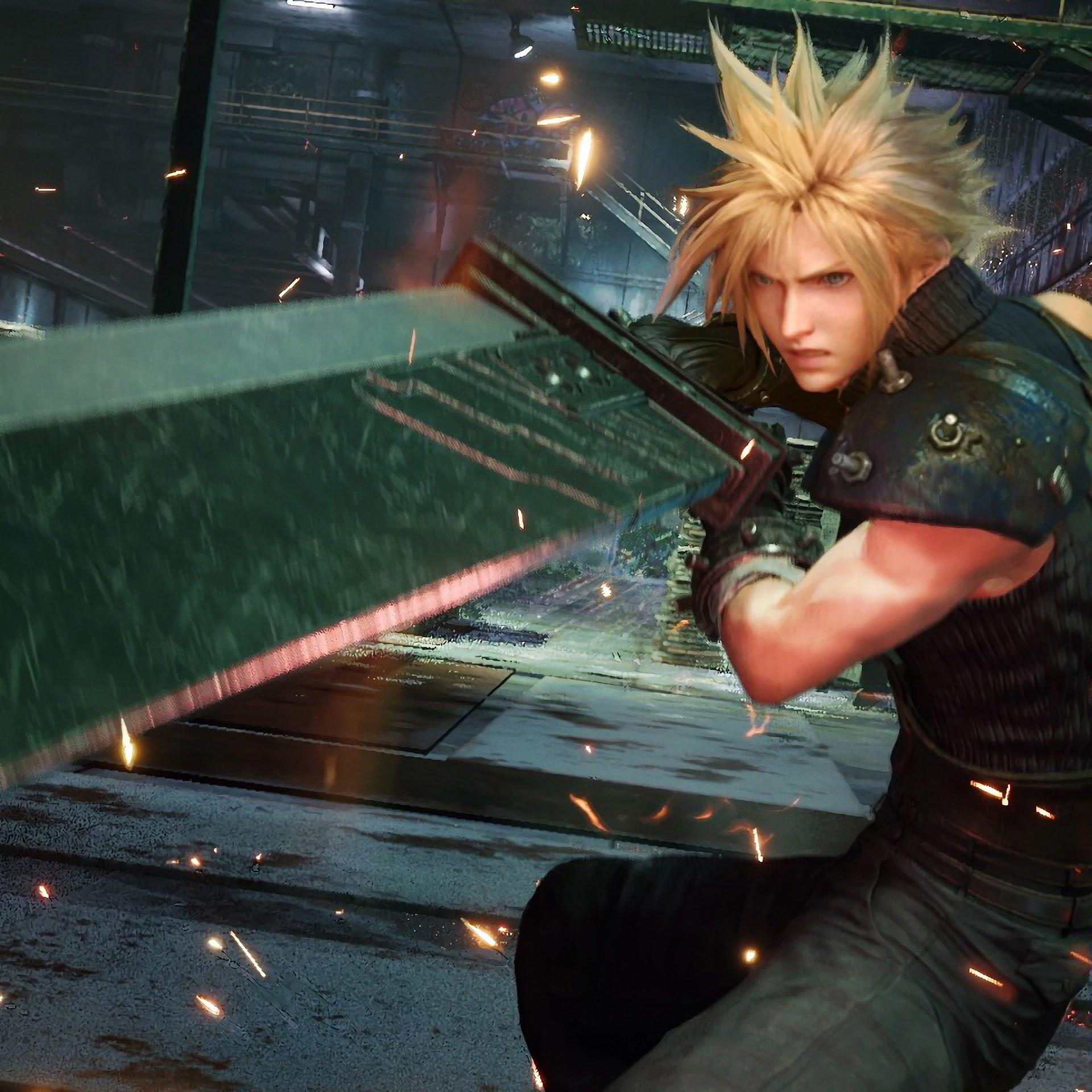 Cloud Strife, Sword, Final Fantasy 7 Remake, 4K, #31 Wallpaper