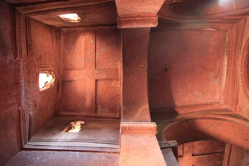 Church carved from the living rock | Lalibela, Ethiopia