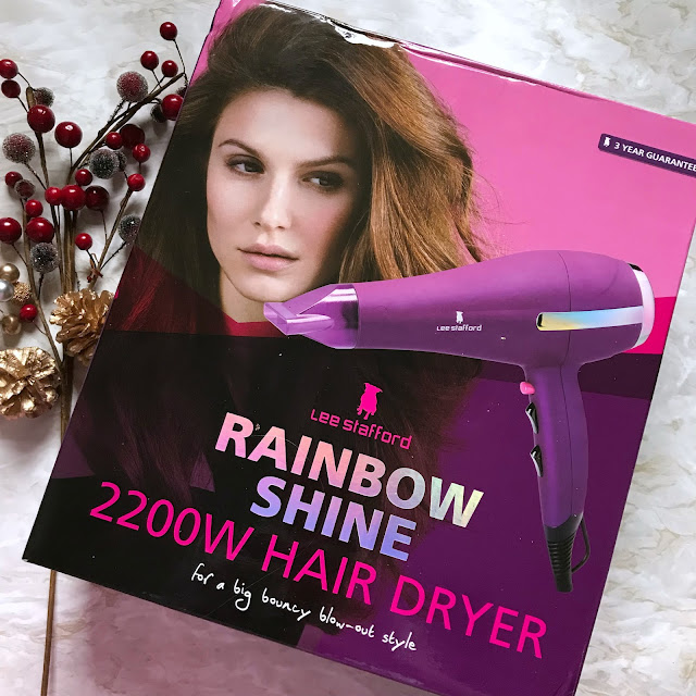 Lee Stafford Rainbow Shine Hair Dryer
