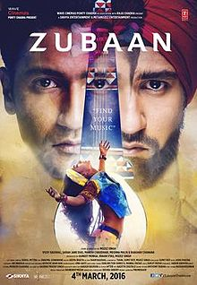 full cast and crew of bollywood movie Zubaan 2016 wiki, Vicky Kaushal, Sarah Jane Dias story, release date, Actress name poster, trailer, Photos, Wallapper