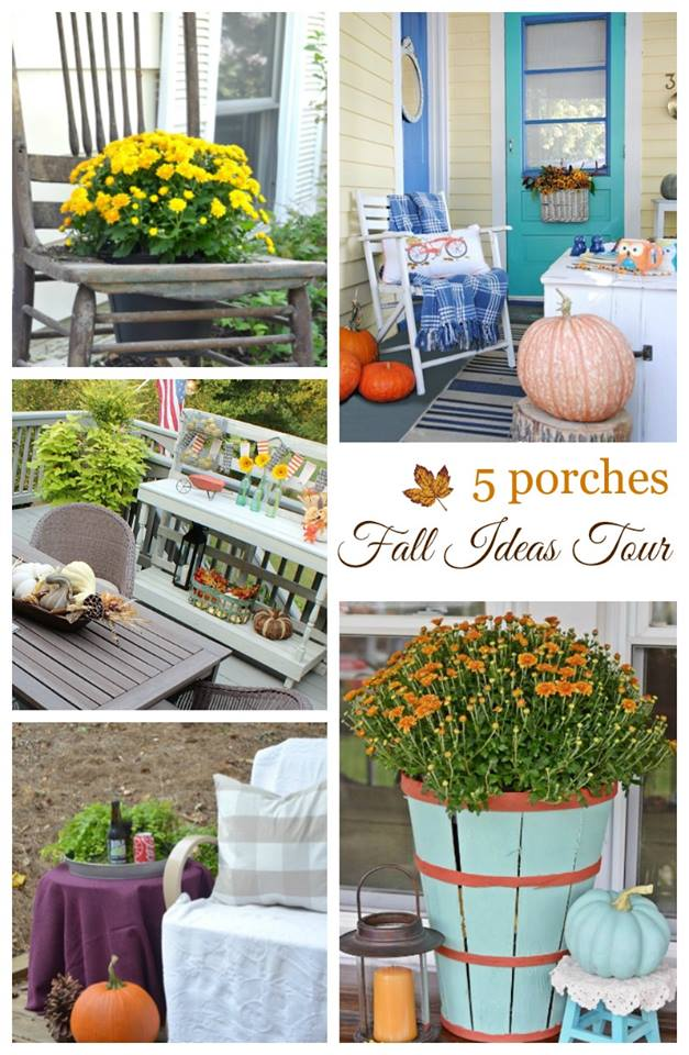 Fall Porches - Fall Ideas Tour 2016