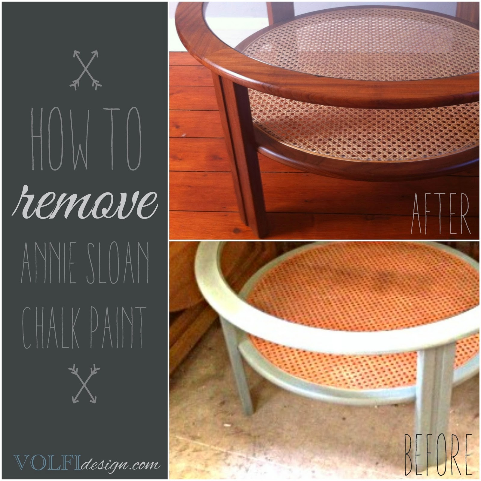 Volfidesign How To Remove Annie Sloan Chalk Paint