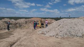 Construtora reinicia trabalhos de conclusão do asfalto e barragem Bonsucesso, em Sossego