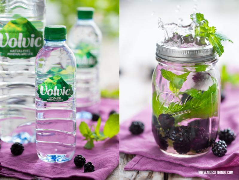 Volvic Wasser Blog Rezept Infused Water