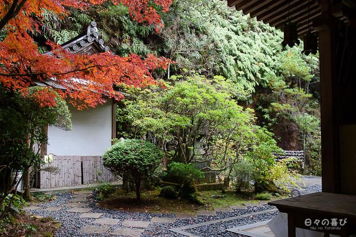 Allées du hondo, temple Mitaki-dera, Hiroshima