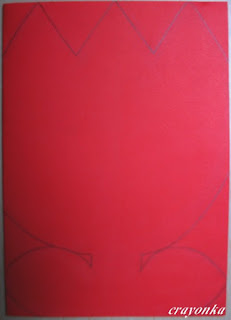 rysunek tulipana na kartce