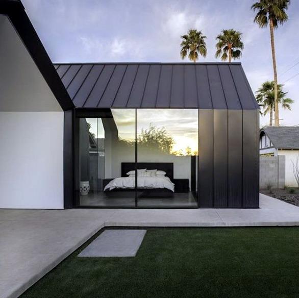 Rumah minimalis modern industrial