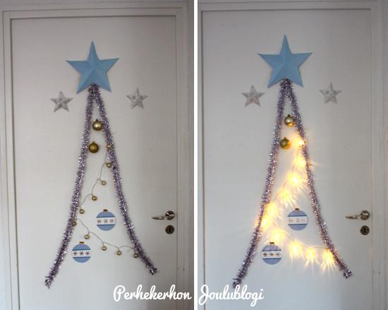 Kuva: Joulupuu on rakennettu, joulu on jo ovella
