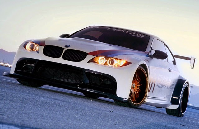 Foto Modifikasi Mobil BMW M3 Widebody